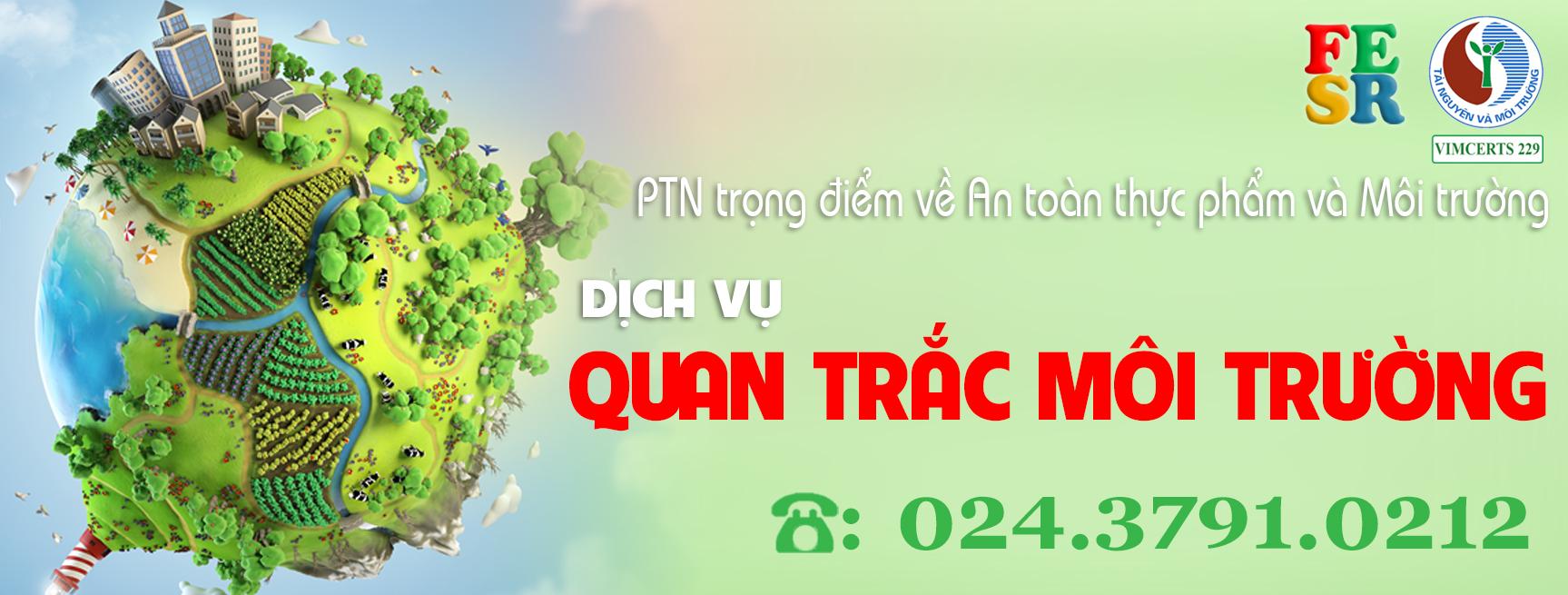 Quan Trắc Môi Trường Theo Tiêu Chuẩn Kỹ Thuật QCVN Việt Nam