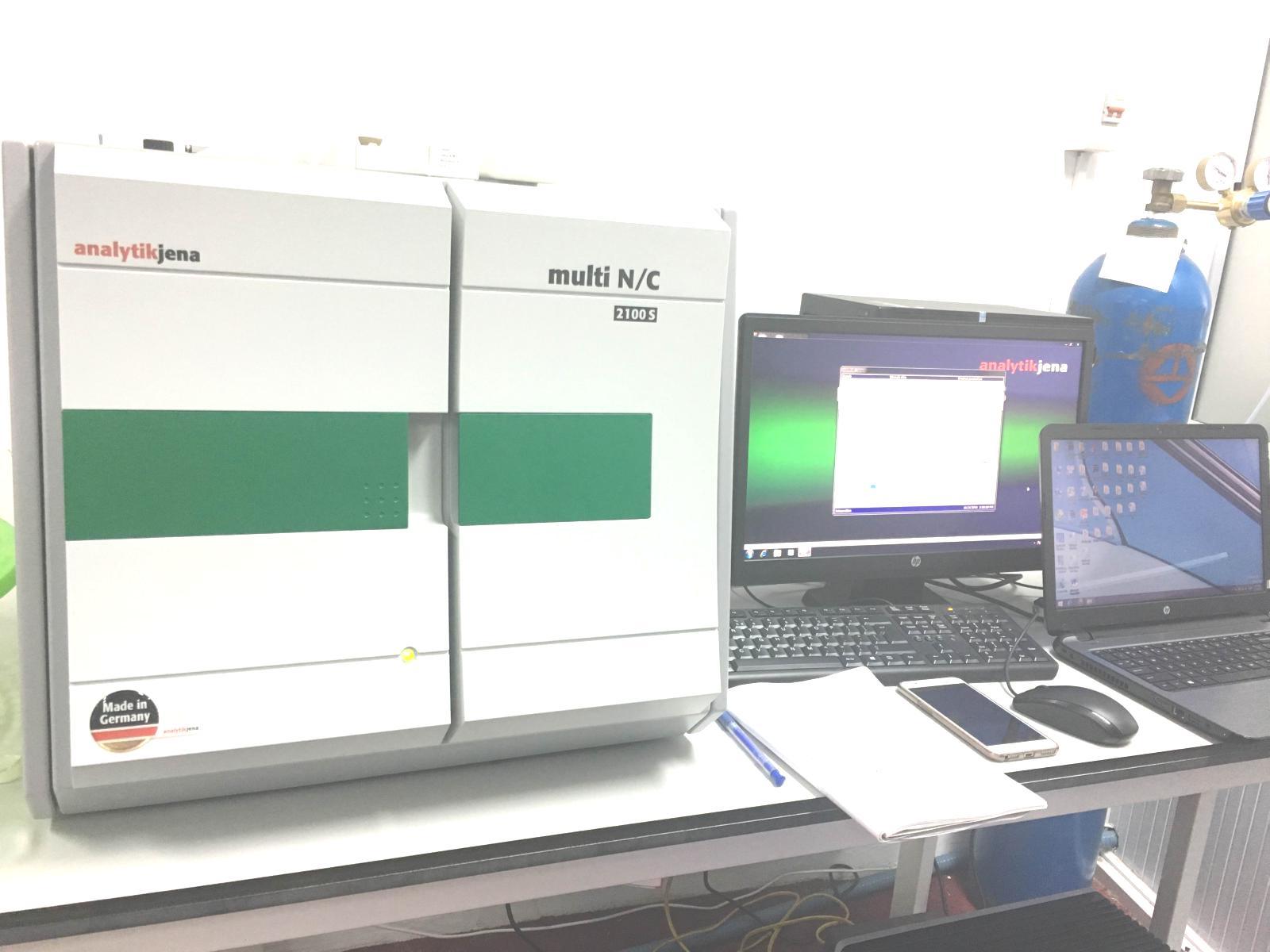 Hệ thiết bị phân tích TOC/TN