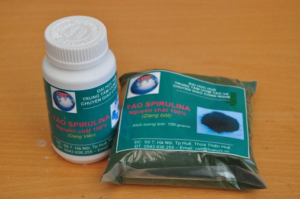 Quy trình nuôi trồng và chế biến tảo Spirulina quy mô hộ gia đình làm thực phẩm bổ sung
