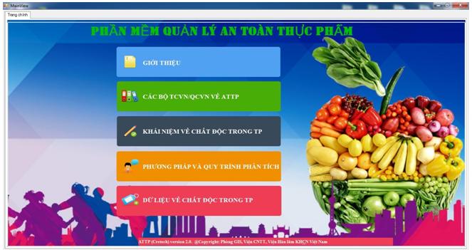 Xây dựng Bộ quy trình định lượng các chất độc trong thực phẩm - Mã số đề tài: VAST.TĐ.TP.01/16-18