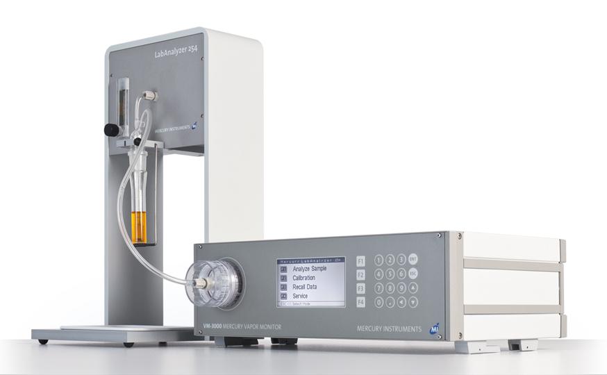 Thủy ngân: Máy phân tích thủy ngân trong phòng thí nghiệm