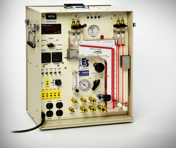 Máy lấy mẫu bụi, khí thải ống khói C-5000