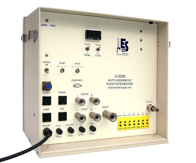 Máy lấy mẫu bụi khí thải ống khói Isokinetic tự động, model: M5-A-S1 hãng: ESC – Mỹ