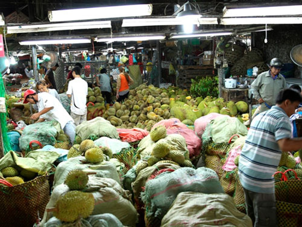 Đảm bảo vệ sinh an toàn thực phẩm từ chợ đầu mối