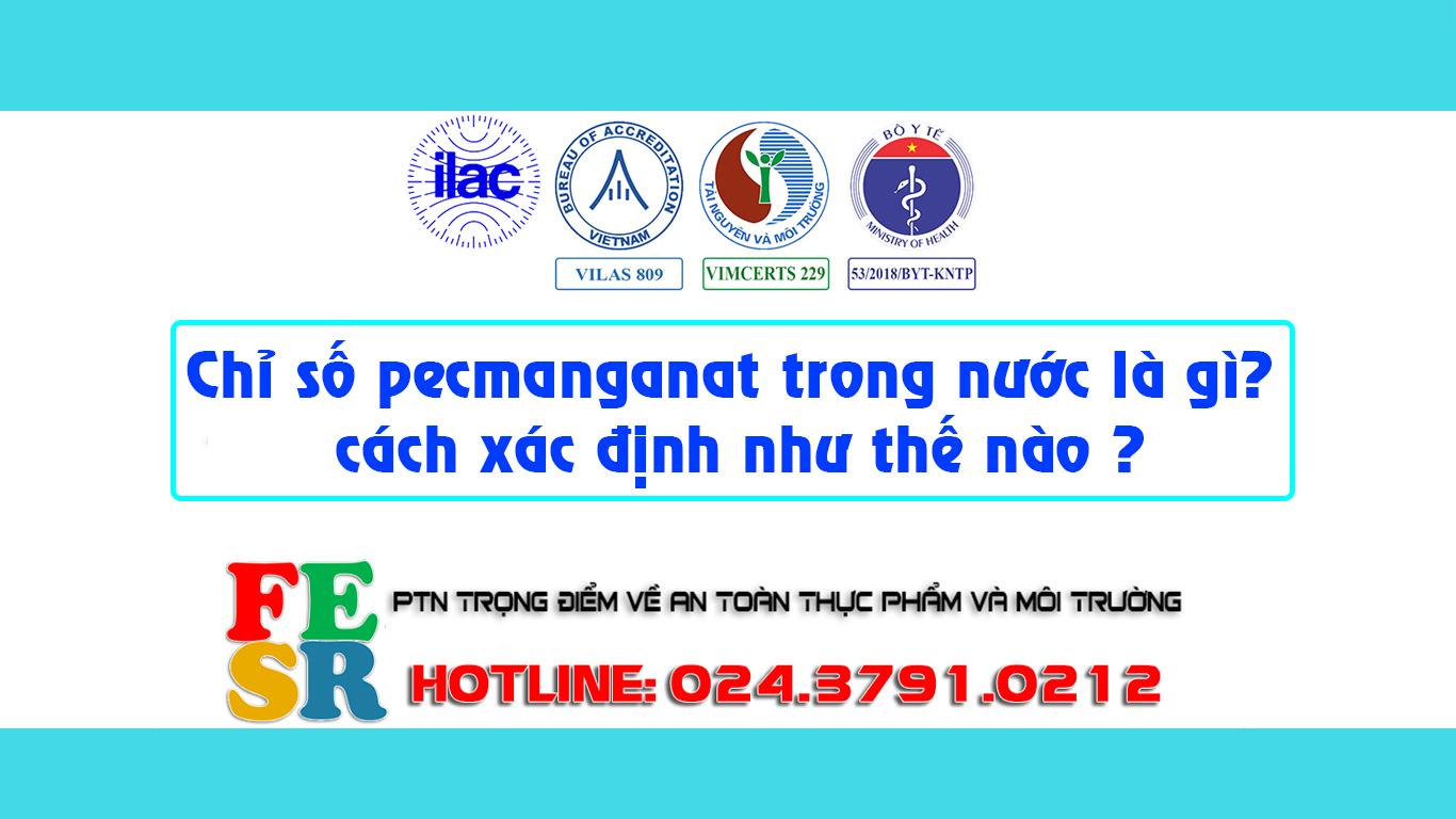 Chỉ số pecmanganat trong nước là gì , cách xác định như thế nào ? Chỉ số Pemanganat và giải pháp xử lý.