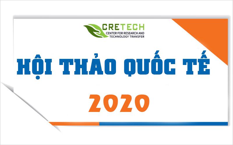 Thông báo v/v tổ chức hội thảo khoa học quốc tế năm 2020