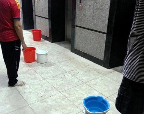 Ôi nhiễm nước máy khu vực Xa La - Hà Đông