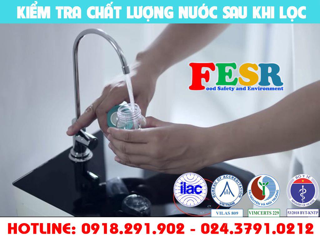 Tiêu chuẩn nước đóng chai của Bộ Y Tế